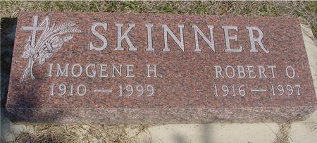 SKINNER, ROBERT & IMOGENE - Woodbury County, Iowa   ROBERT & IMOGENE SKINNER