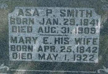 SMITH, ASA P. & MARY - Woodbury County, Iowa | ASA P. & MARY SMITH