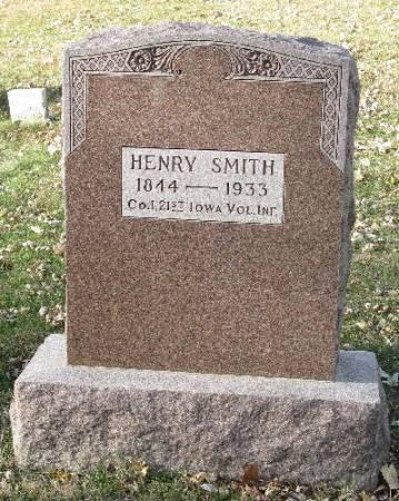 SMITH, HENRY EDWARD - Woodbury County, Iowa | HENRY EDWARD SMITH