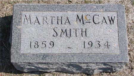 MCCAW SMITH, MARTHA - Woodbury County, Iowa | MARTHA MCCAW SMITH