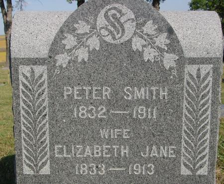 SMITH, PETER & ELIZABETH - Woodbury County, Iowa | PETER & ELIZABETH SMITH