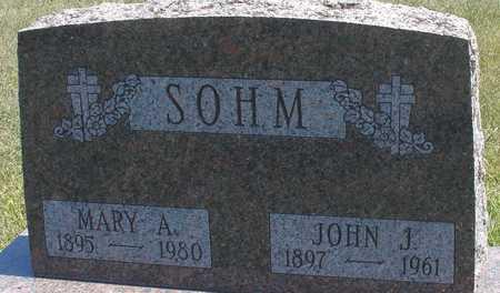 SOHM, JOHN J. & MARY A. - Woodbury County, Iowa   JOHN J. & MARY A. SOHM
