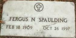SPAULDING, FERGUS