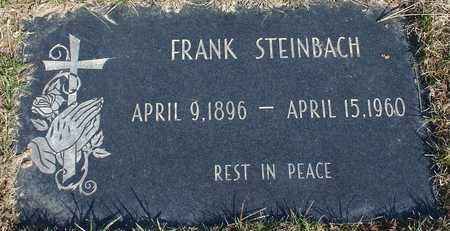 STEINBACH, FRANK - Woodbury County, Iowa   FRANK STEINBACH