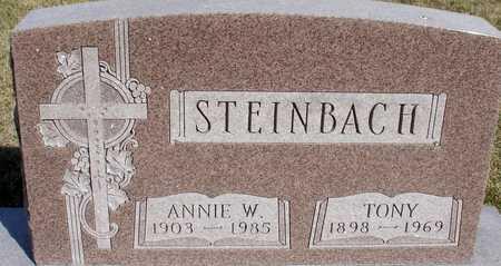 STEINBACH, TONY & ANNIE - Woodbury County, Iowa | TONY & ANNIE STEINBACH