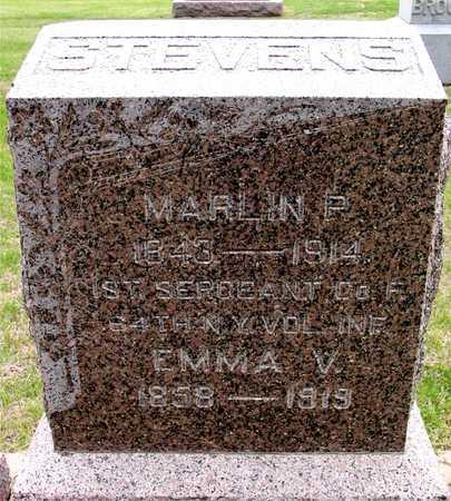STEVENS, MARLIN P. & EMMA - Woodbury County, Iowa | MARLIN P. & EMMA STEVENS