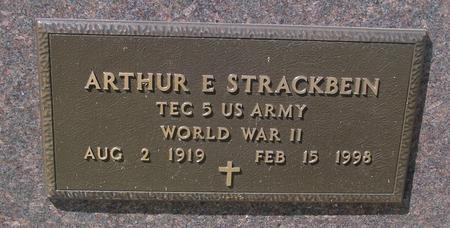 STRACKBEIN, ARTHUR - Woodbury County, Iowa | ARTHUR STRACKBEIN