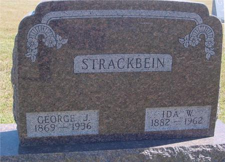 STRACKBEIN, GEORGE - Woodbury County, Iowa | GEORGE STRACKBEIN