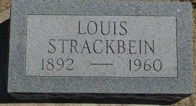 STRACKBEIN, LOUIS - Woodbury County, Iowa | LOUIS STRACKBEIN