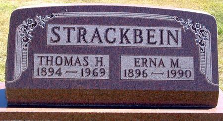 STRACKBEIN, THOMAS & ERNA - Woodbury County, Iowa | THOMAS & ERNA STRACKBEIN