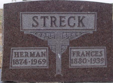 STRECK, HERMAN & FRANCES - Woodbury County, Iowa | HERMAN & FRANCES STRECK