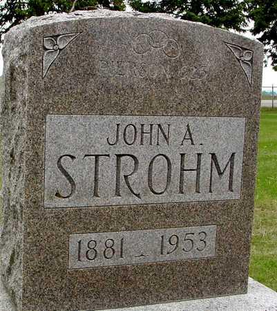 STROHM, JOHN A. - Woodbury County, Iowa   JOHN A. STROHM