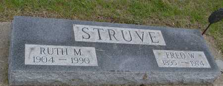 STRUVE, FRED W. & RUTH M. - Woodbury County, Iowa | FRED W. & RUTH M. STRUVE