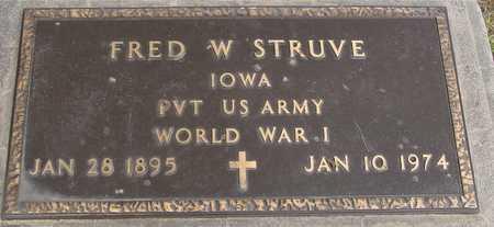 STRUVE, FRED W. - Woodbury County, Iowa | FRED W. STRUVE