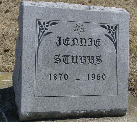 STUBBS, JENNIE - Woodbury County, Iowa | JENNIE STUBBS