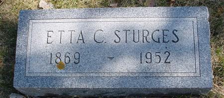 STURGES, ETTA C. - Woodbury County, Iowa | ETTA C. STURGES