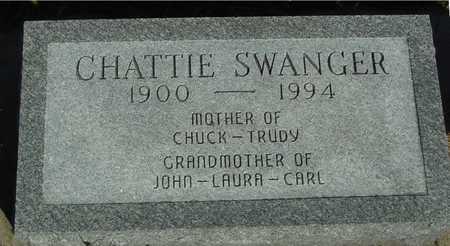 SWANGER, CHATTIE - Woodbury County, Iowa | CHATTIE SWANGER
