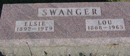SWANGER, LOU & ELSIE - Woodbury County, Iowa | LOU & ELSIE SWANGER