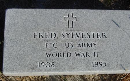 SYLVESTER, FRED - Woodbury County, Iowa | FRED SYLVESTER