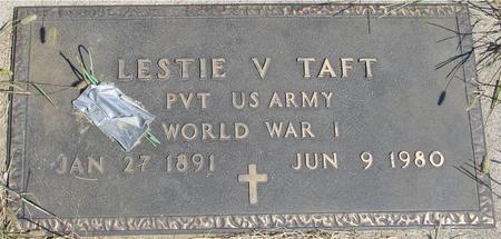 TAFT, LESTIE - Woodbury County, Iowa   LESTIE TAFT