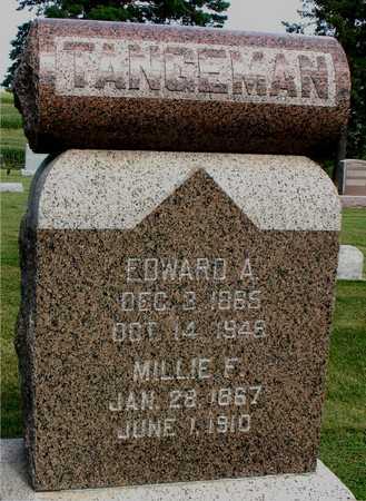 TANGEMAN, EDWARD & MILLIE F. - Woodbury County, Iowa | EDWARD & MILLIE F. TANGEMAN