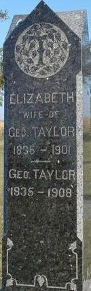 TAYLOR, GEORGE & ELIZABETH - Woodbury County, Iowa | GEORGE & ELIZABETH TAYLOR