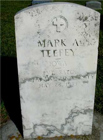TEEFEY, MARK A. - Woodbury County, Iowa   MARK A. TEEFEY