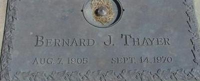THAYER, BERNARD J. - Woodbury County, Iowa | BERNARD J. THAYER
