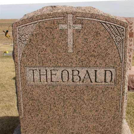THEOBALD, FAMILY MARKER - Woodbury County, Iowa | FAMILY MARKER THEOBALD