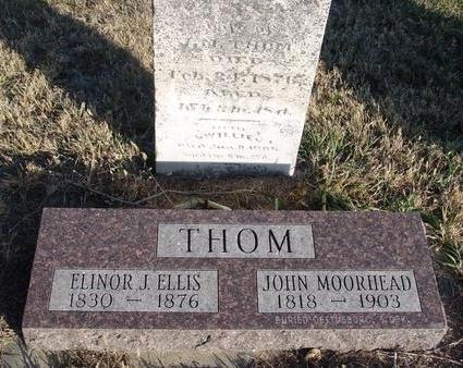 ELLIS THOM, ELINOR - Woodbury County, Iowa   ELINOR ELLIS THOM