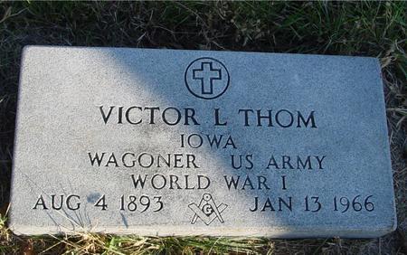 THOM, VICTOR L. - Woodbury County, Iowa | VICTOR L. THOM