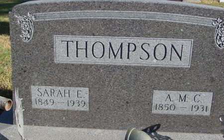 THOMPSON, A.M.C. & SARAH - Woodbury County, Iowa | A.M.C. & SARAH THOMPSON