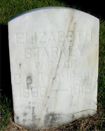 THOMPSON, ELIZABETH - Woodbury County, Iowa | ELIZABETH THOMPSON