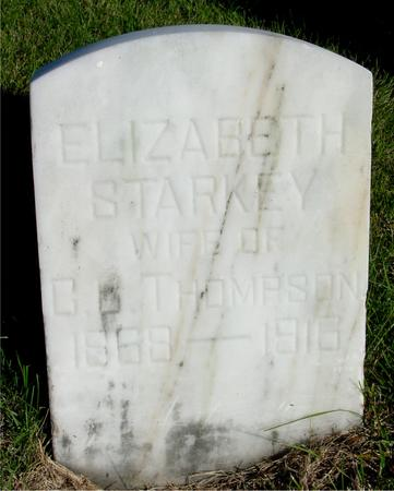 STARKEY THOMPSON, ELIZABETH - Woodbury County, Iowa | ELIZABETH STARKEY THOMPSON