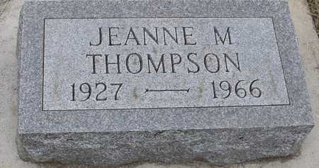 THOMPSON, JEANNE M. - Woodbury County, Iowa | JEANNE M. THOMPSON