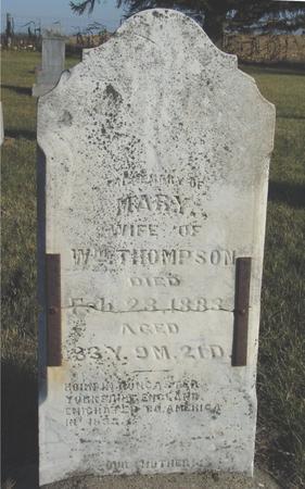 THOMPSON, MARY - Woodbury County, Iowa | MARY THOMPSON