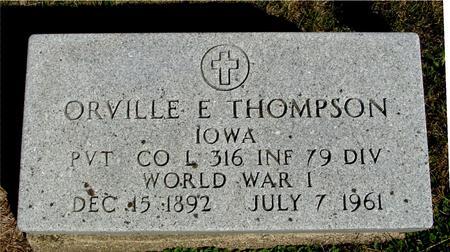 THOMPSON, ORVILLE E. - Woodbury County, Iowa | ORVILLE E. THOMPSON