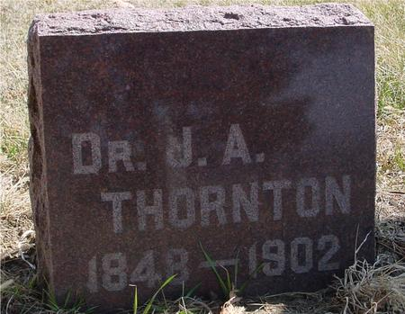 THORNTON, DR. J. A. - Woodbury County, Iowa | DR. J. A. THORNTON