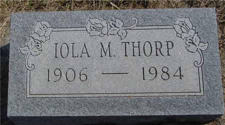 THORP, IOLA M. - Woodbury County, Iowa | IOLA M. THORP