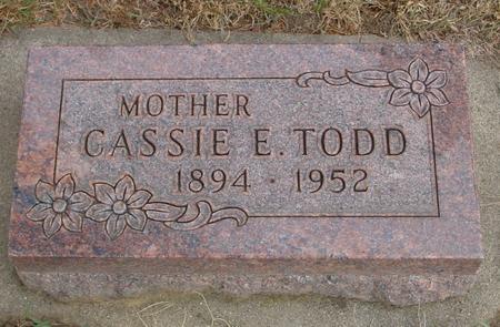 TODD, CASSIE E. - Woodbury County, Iowa | CASSIE E. TODD