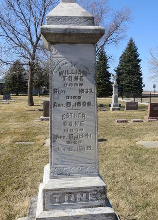 TONE, ESTHER - Woodbury County, Iowa   ESTHER TONE
