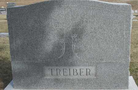 TREIBER, FAMILY MARKER - Woodbury County, Iowa | FAMILY MARKER TREIBER