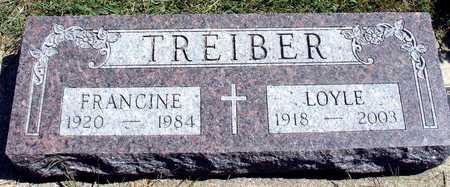 TREIBER, LOYLE & FRANCINE - Woodbury County, Iowa | LOYLE & FRANCINE TREIBER