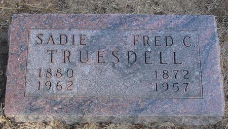 TRUESDELL, FRED & SADIE - Woodbury County, Iowa | FRED & SADIE TRUESDELL