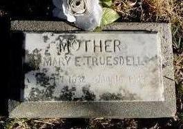 MANOR TRUESDELL, MARY ELIZABETH - Woodbury County, Iowa | MARY ELIZABETH MANOR TRUESDELL