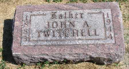 TWITCHELL, JOHN A. - Woodbury County, Iowa | JOHN A. TWITCHELL