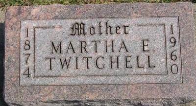 TWITCHELL, MARTHA E. - Woodbury County, Iowa | MARTHA E. TWITCHELL