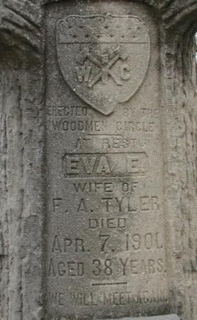 TYLER, EVA D - Woodbury County, Iowa   EVA D TYLER