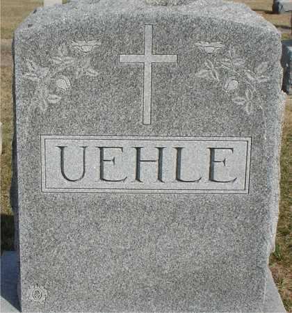 UEHLE, FAMILY MARKER - Woodbury County, Iowa | FAMILY MARKER UEHLE