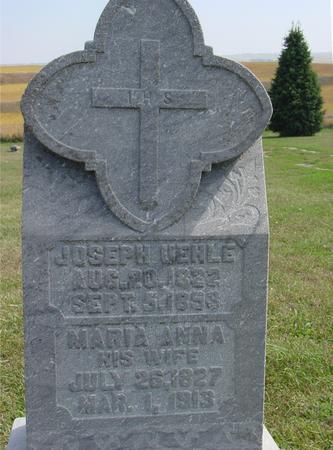 UEHLE, JOSEPH & MARIA - Woodbury County, Iowa | JOSEPH & MARIA UEHLE